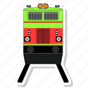 line, train, transport icon