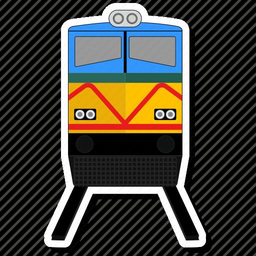 line, train, transport icon