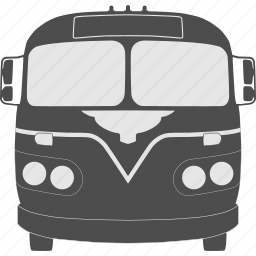 bus, old, public transportaion, retro, transport, transportation, travel icon