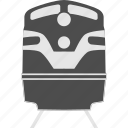 locomotive, public transportaion, railway, train, transport, transportation, travel icon