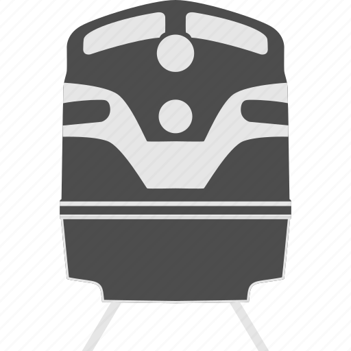 locomotive, public transportaion, railway, train, transport, transportation, travel icon