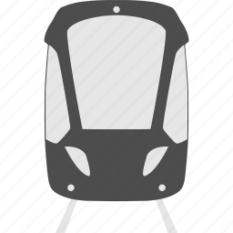 public transportaion, traffic, tram, transportation, travel, vehicle icon