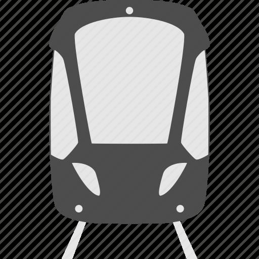 public transportaion, traffic, tram, transportation, travel, vehicle icon