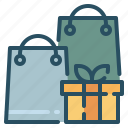 bag, gift, shop, shopping icon