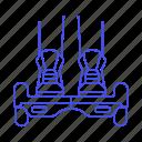 balancing, electric, feet, hoverboard, land, legs, road, self, skateboard, street, transportation icon