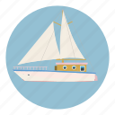 adventure, boat, business, cartoon, club, cruise, speed icon