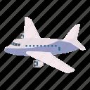 aeroplane, air, aircraft, airline, airliner, cartoon, passenger