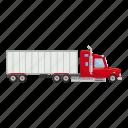 auto, automobile, business, cargo, carrier, cartoon, truck