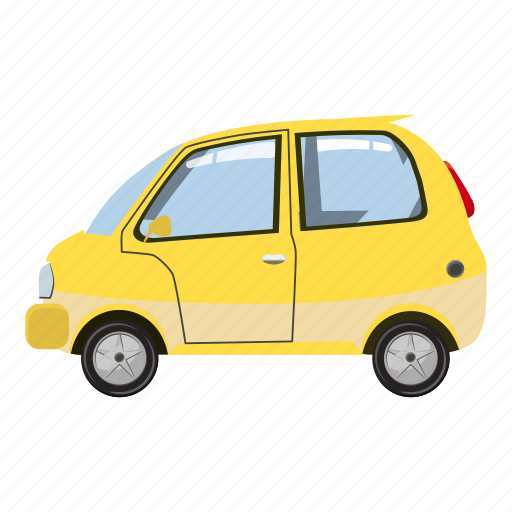 auto, automobile, automotive, car, cartoon, classic, drive icon