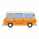 abstract, auto, automobile, bus, business, cartoon, mini icon