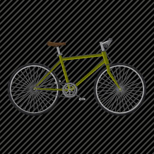 active, activity, bicycle, bike, biking, cartoon, competition icon