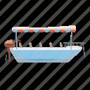 boat, cartoon, cruise, cruising, dock, excursion, ship icon
