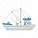 abstract, angler, artwork, asia, boat, cartoon, fishing icon