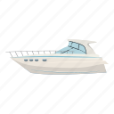 adventure, boat, cartoon, cruise, holiday, manufacturing, yacht icon