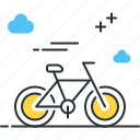 bicycle, bike, cycling, riding icon