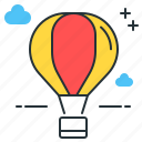 air, balloon, hot, transport