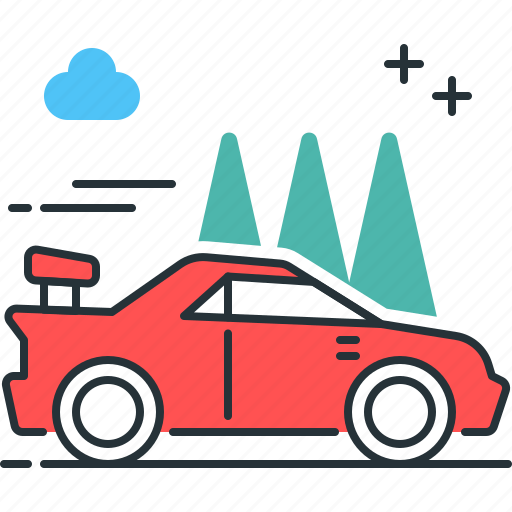 car, race, sports, vehicle icon