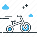 bicycle, cycle, transportation, tricycle icon