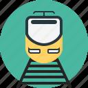 commute, electric train, locomotive, railway, transport, transportation, travel