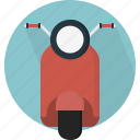scooter, transport, transportation, travel, two-wheeler, vehicle, wheels icon