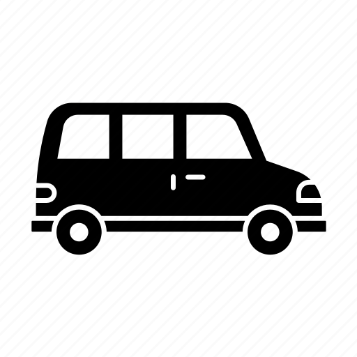 car, fill, transport, transportation, travel, van, vehicle icon