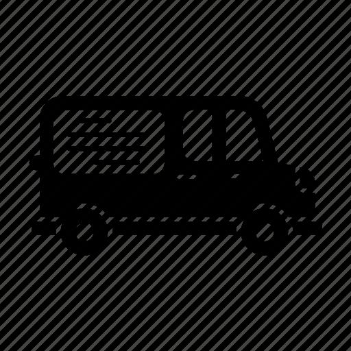 advertisement, delivery, fill, transport, van, van advertising, vanads, vehicle icon