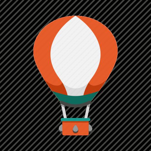 balloon, flight, floating, hot air balloon, travel icon