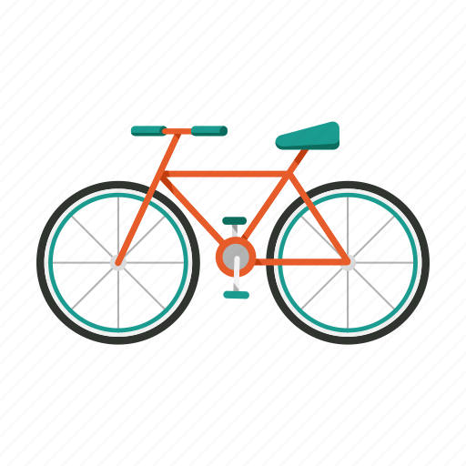 bicycle, cycling, exercise, transportation, vehicle icon