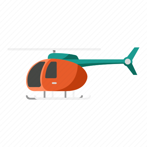 aircraft, chopper, helicopter, propeller, transportation icon