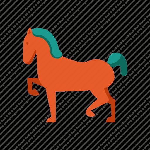 Animal, horse, mammal, riding, transportation icon - Download on Iconfinder