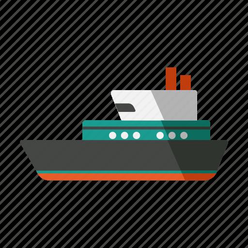 cruise, logistics, ship, transportation, travel icon