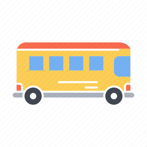 Bus, rail bus, school bus, transport, transportation, travel icon - Download on Iconfinder