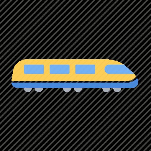 electrictrain, metro, train, transport, transportation, travel icon
