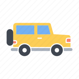 fourwheels, jeep, offroad, offroad02, transport, vehicle icon