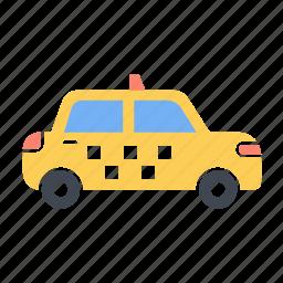 car, public, taxi, transport, transportation, vehicle icon