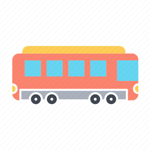 public, railway, train, transport, transportation, vehicle icon