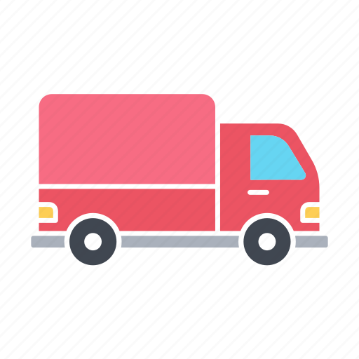 Delivery, lorry, transport, transportation, truck, vehicle icon - Download on Iconfinder