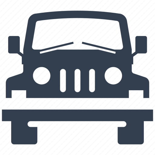 4x4, automobile, cars, front view, jeep, machine, quadro, transportation, travel, vehicle icon