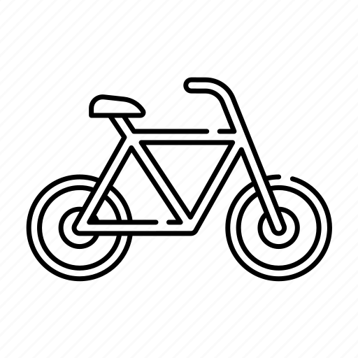 bicycle, bike, lineal, sport, transport, transportation, travel icon