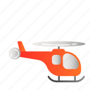 helicopter, transportation, vehicle