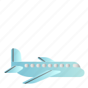 airplane, transportation, vehicle