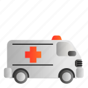 ambulance, transportation, vehicle