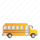 bus, busschool, school, transportation