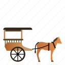 carriage, transportation, vehicle