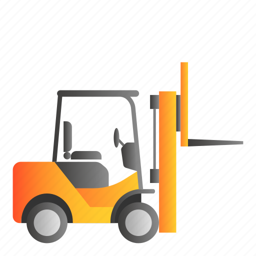 Forclift, transportation, vehicle icon - Download on Iconfinder