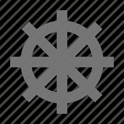boat, ship, ships wheel, wheel icon