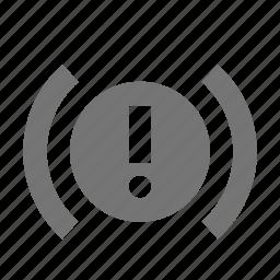 alert, error, exclamation, signal icon