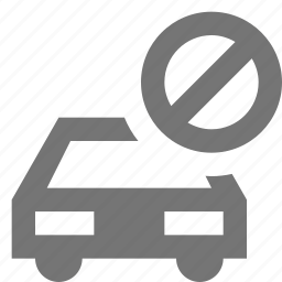 block, car, stop, transportation icon
