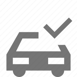 car, check, select, transportation icon