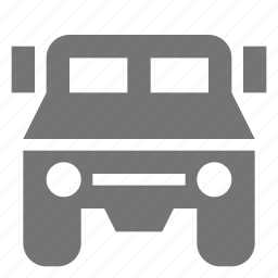 jeep, transportation, truck icon
